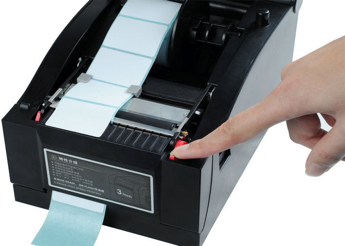 Warehouse 203 DPI Thermal Barcode Label Printer , Adjustable Print Width / Speed