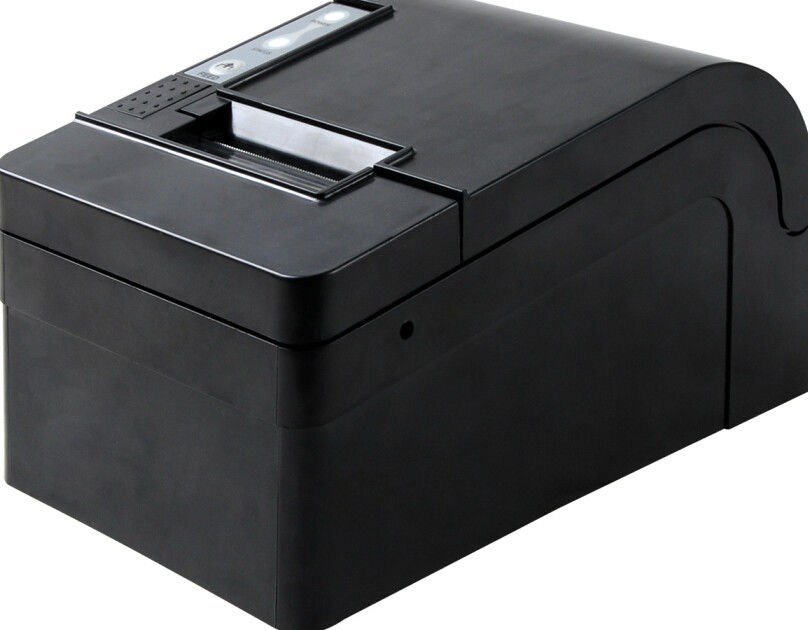 Custom 48mm Barcode POS Thermal Printer With Cutter For Cash Register 220mm/s
